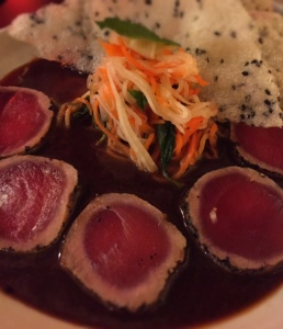 Yellow Fin Tuna Tatami