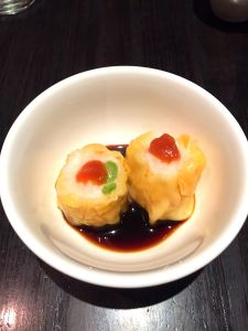 Prawn and Scallop Dumplings